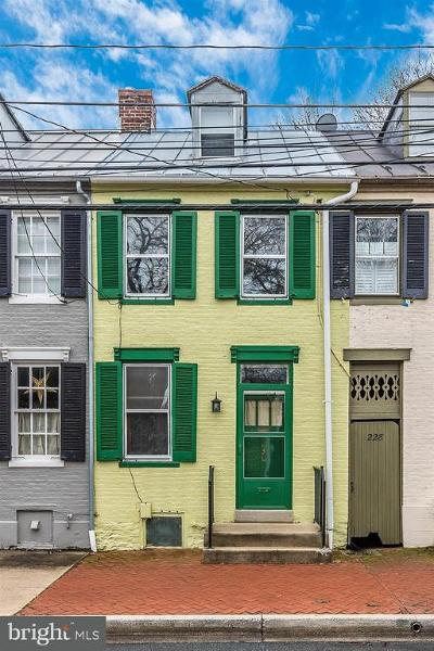 Frederick Townhouse For Sale: 230 3rd Street