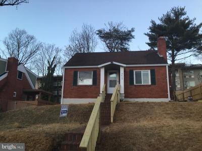 Cheverly Single Family Home For Sale: 6420 Kilmer Street
