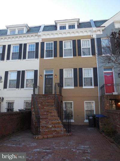 Georgetown Multi Family Home For Sale: 3420 R Street NW