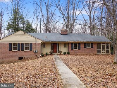 Rockville Single Family Home For Sale: 11760 Glen Mill Road