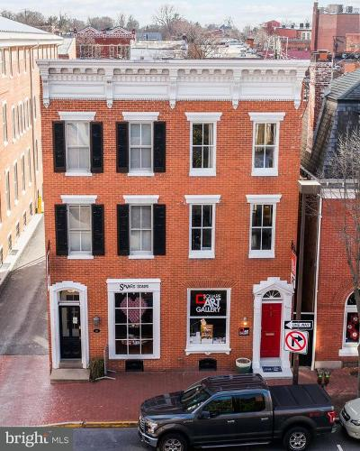Frederick Townhouse For Sale: 8 Church Street E