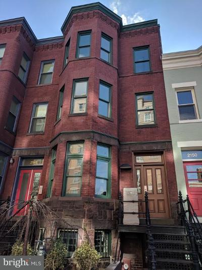 Foggy Bottom Townhouse For Sale: 2148 F Street NW