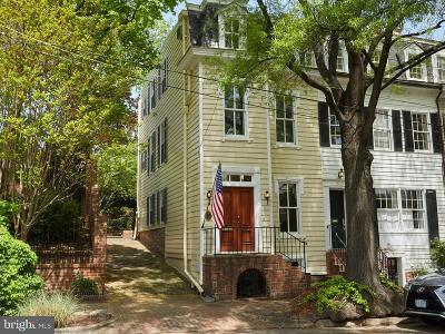 Alexandria City Townhouse For Sale: 511 Wolfe Street