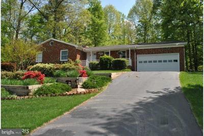 Manassas Single Family Home For Sale: 7861 Meadowgate Drive