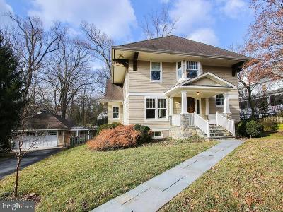 Cabin John Single Family Home For Sale: 6614 81st Street