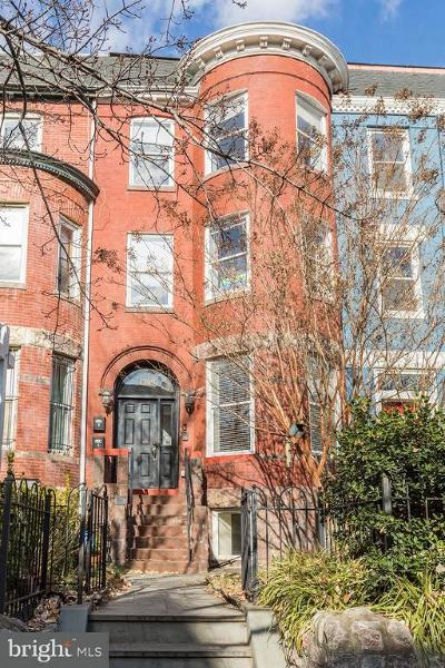 Columbia Heights, Columbia Heights/U St Townhouse For Sale: 1309 Fairmont Street NW #A
