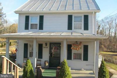 Toms Brook Single Family Home For Sale: 3478 Main Street