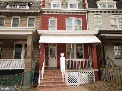 Columbia Heights, Columbia Heights/U St Townhouse For Sale: 3909 13th Street NW