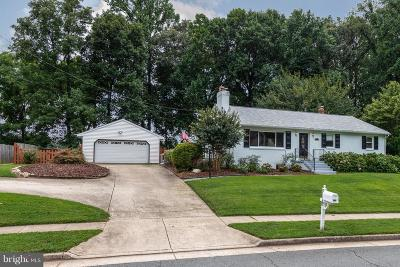 Burke Single Family Home Active Under Contract: 5312 Dunleigh Drive