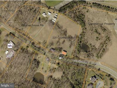 Stafford County Residential Lots & Land For Sale: 205 Courthouse Road