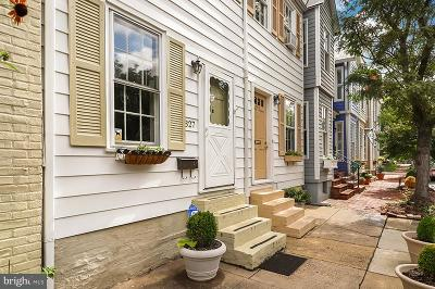 Alexandria City Townhouse For Sale: 827 Queen Street