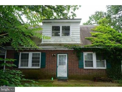 Millville Single Family Home For Sale: 1103 Buck Street