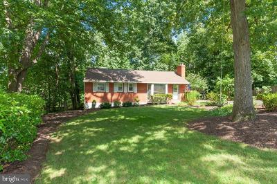 Alexandria Single Family Home For Sale: 5721 Oak Hill Place
