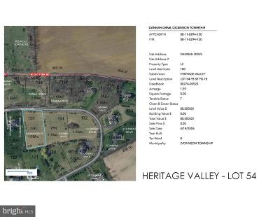 Carlisle Residential Lots & Land For Sale: Heritage Valley - Dannah Drive #LOT 54