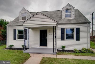 Single Family Home For Sale: 3108 Short Way