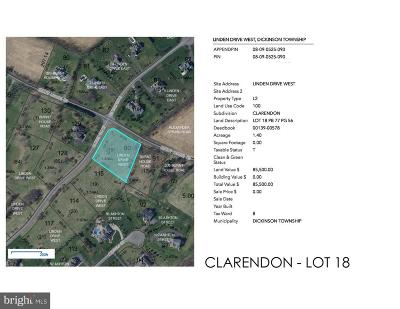 Carlisle Residential Lots & Land For Sale: Clarendon - W Linden Drive #LOT 18