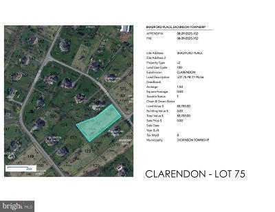 Carlisle Residential Lots & Land For Sale: Clarendon - Bradford Place #LOT 75