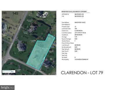 Carlisle Residential Lots & Land For Sale: Clarendon - Bradford Place #LOT 79