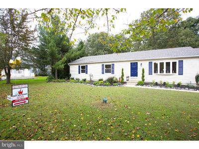 Hammonton Single Family Home For Sale: 19 E Judith Drive