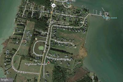 Tilghman Residential Lots & Land For Sale: Island Club Road