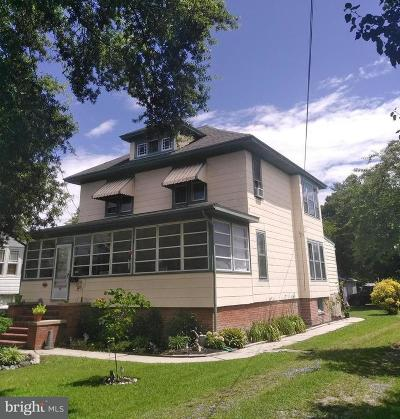 Crisfield Single Family Home For Sale: 242 N Somerset Avenue
