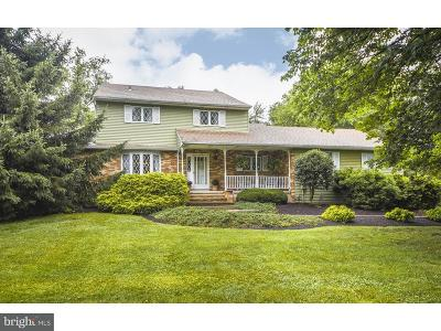 Upper Makefield Single Family Home For Sale: 126 Walker Road