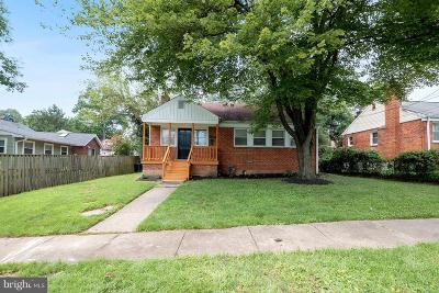 Silver Spring Single Family Home For Sale: 10802 Jewett Street