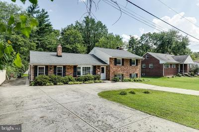 Falls Church Single Family Home For Sale: 3051 Sleepy Hollow Road