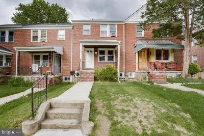 Catonsville Single Family Home For Sale: 15 Enjay Avenue