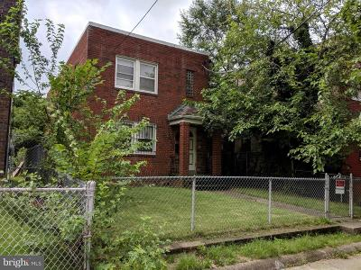 Washington Multi Family Home Under Contract: 1413 T Street SE