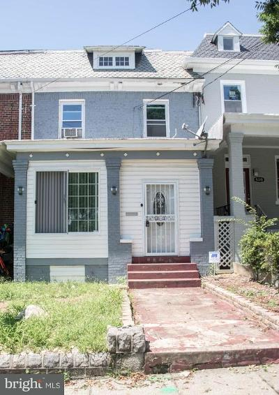 Petworth, Petworth/16th Street Heights, Petworth/Brightwood, Petwoth Townhouse For Sale: 5308 Kansas Avenue NW