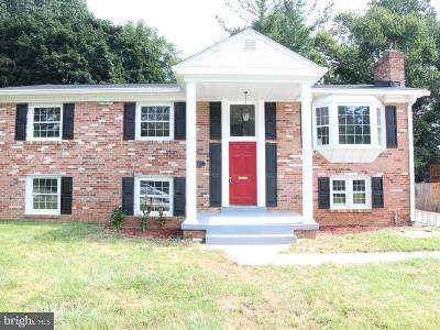 Prince William County Single Family Home For Sale: 4304 Eldorado Drive