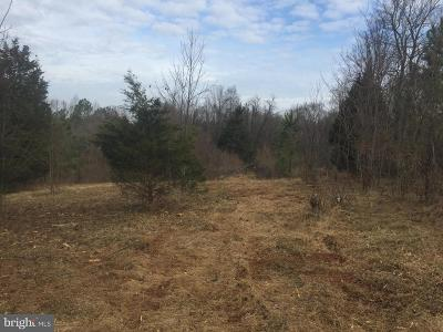 Culpeper County Residential Lots & Land For Sale: Bleak Hill Road