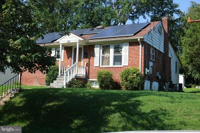 Silver Spring Single Family Home For Sale: 12414 Goodhill Road