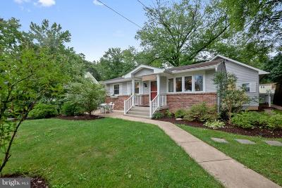 Berwyn Heights Single Family Home Active Under Contract: 8503 Cunningham Drive