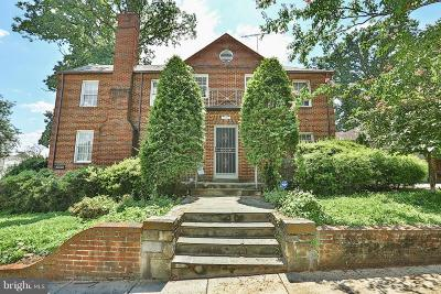 Single Family Home Active Under Contract: 4130 16th Street NW