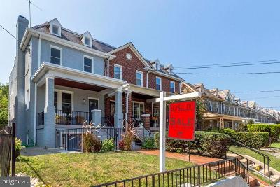 Washington Single Family Home For Sale: 1312 Rittenhouse Street NW