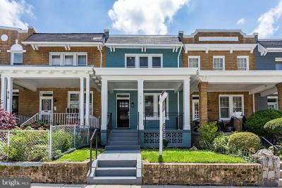 Petworth, Petworth/16th Street Heights, Petworth/Brightwood, Petwoth Townhouse For Sale: 616 Delafield Place NW