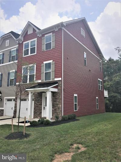 Manassas Townhouse For Sale: 10783 Hinton Way