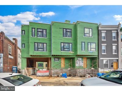 Brewerytown Townhouse For Sale: 1305 N 27th Street #D