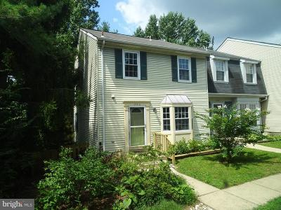 Ellicott City Townhouse For Sale: 3546 Split Rail Lane