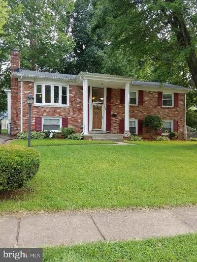 Dale City Single Family Home For Sale: 3909 Del Mar Drive