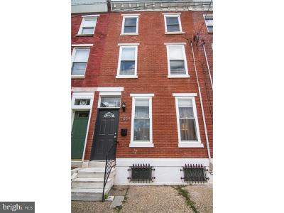 Fishtown Townhouse For Sale: 2054 Coral Street