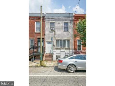 Point Breeze Townhouse For Sale: 2033 Morris Street