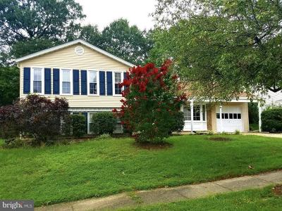 Lanham Single Family Home For Sale: 8409 Red Wing Lane