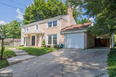 Bethesda Single Family Home For Sale: 7021 Whittier Boulevard