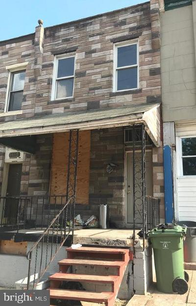 Baltimore City Townhouse For Sale
