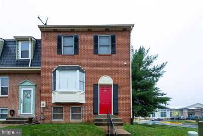 Walkersville Townhouse For Sale: 101 Grantham Court