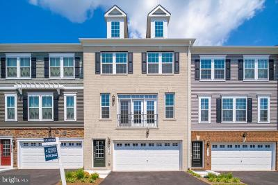 Manassas Townhouse For Sale: 8816 Englewood Farms Drive