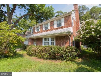 Chestnut Hill Single Family Home For Sale: 410 E Gravers Lane